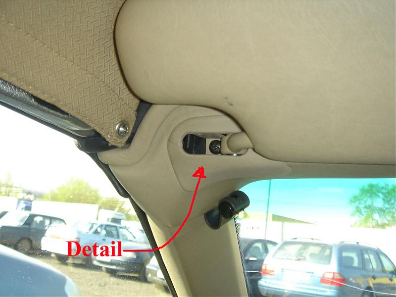 Car Sunvisor Repair
