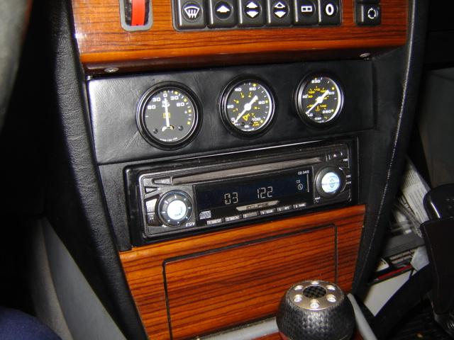 D E Radio Dsc on Mercedes Benz 190e 2 6