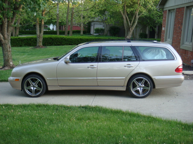 Discount Tire Direct >> Staggered AMG E55 Wheels on E320 4Matic Wagon - Mercedes ...