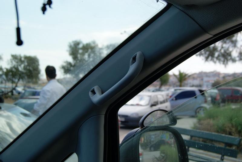 A Pillar Grab Handle And Vanity Mirror Mercedes Benz Forum