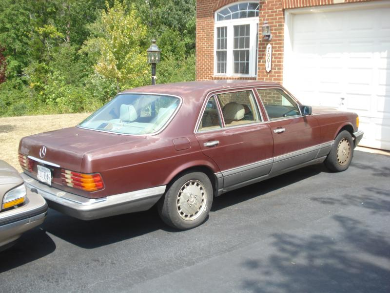 Mercedes 420 sel 1986 for sale. - Mercedes-Benz Forum