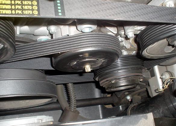 Serpentine Belt Renewal 3 Pics Mercedes Benz Forum