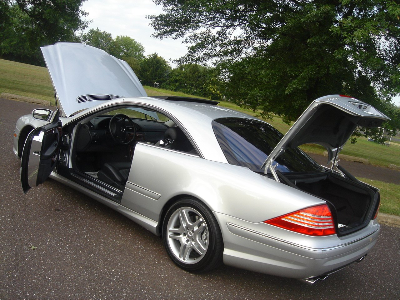Free Carfax Check >> 2003 MBZ CL55 AMG Kompressor - 493 HP - CHEAP - Mercedes