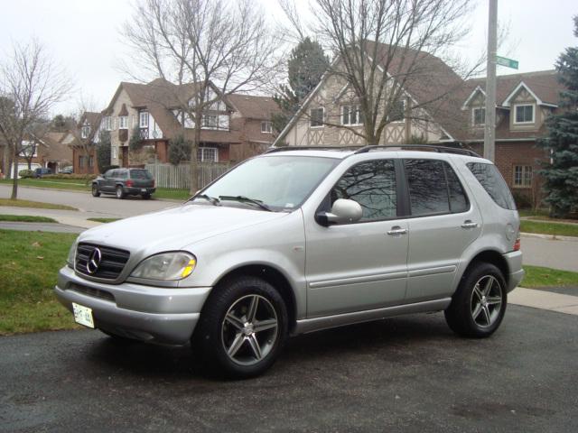 Mercedes ml320 2001