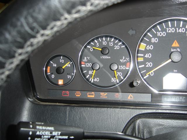 1999 Sl 500 Dash Lights Mercedes Benz Forum