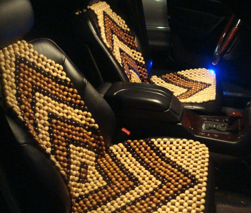 Beaded seat covers - Mercedes-Benz Forum