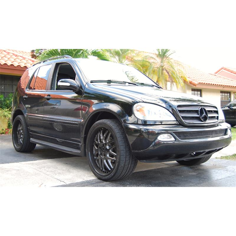 Pimped Out Mercedes Benz ML350 2001 on Genesis Car Audio System