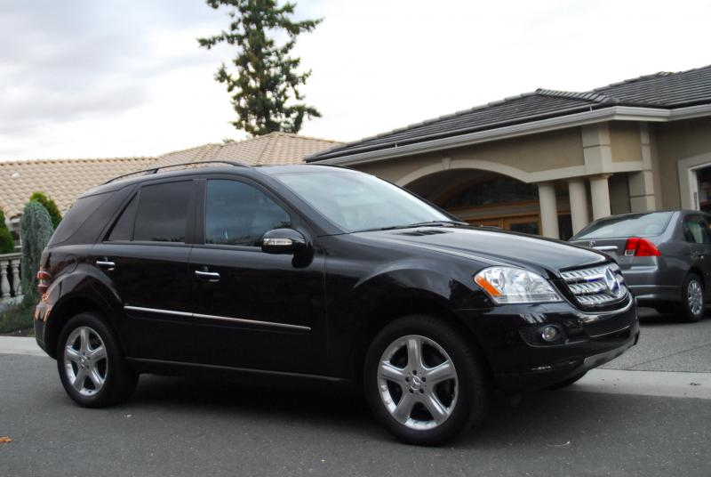 2006 MERCEDES ML350 57K BLACK/BLACK PREMIUM PACKAGE ...