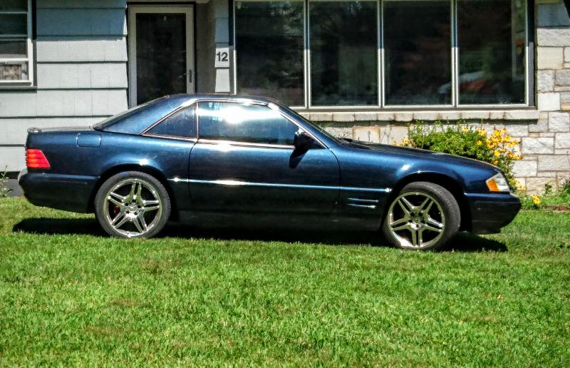 New SL500 owner...the strange things people do... - Mercedes-Benz Forum