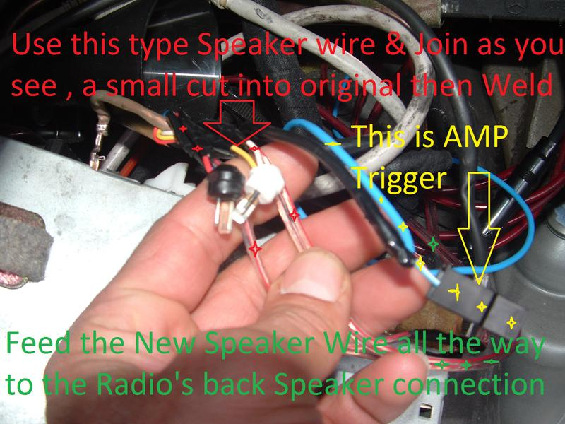 1827154d1459153358 aftermarket radio installation thread w140s 91 dscf0001 aftermarket radio installation thread w140's 91 93 ? mercedes Mercedes Stereo Color Wiring Diagram at bayanpartner.co