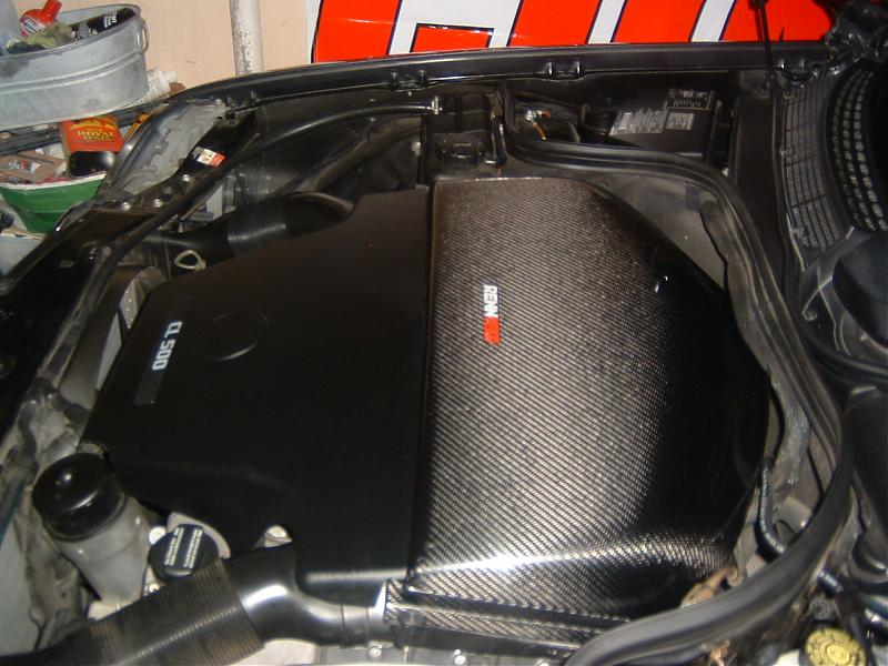 Renntech Carbon Fiber Intake and other parts - Mercedes-Benz Forum