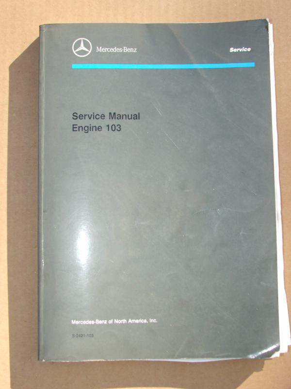 Mercedes benz w124 service manual repair workshop 1986-1995 e 320.