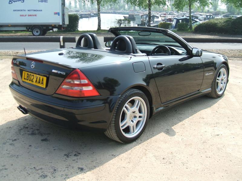 Mercedes Benz Slk32 Amg. FS SLK32 AMG 2002 BLACK +