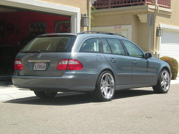 Mercedes Benz Pre Owned >> 2004 E320 Wagon w/ 20 AMG style wheels for sale ...