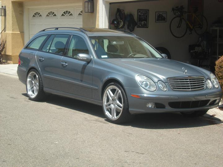2004 E320 Wagon w/ 20 AMG style wheels for sale ...