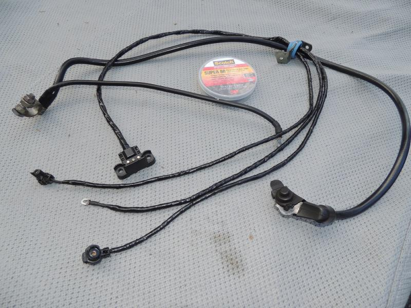 Lower Wiring Harness W124 - Wiring Diagram Variable on