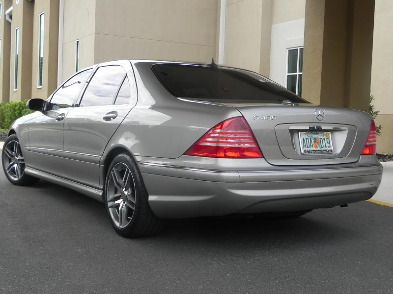 мерседес 550 2004
