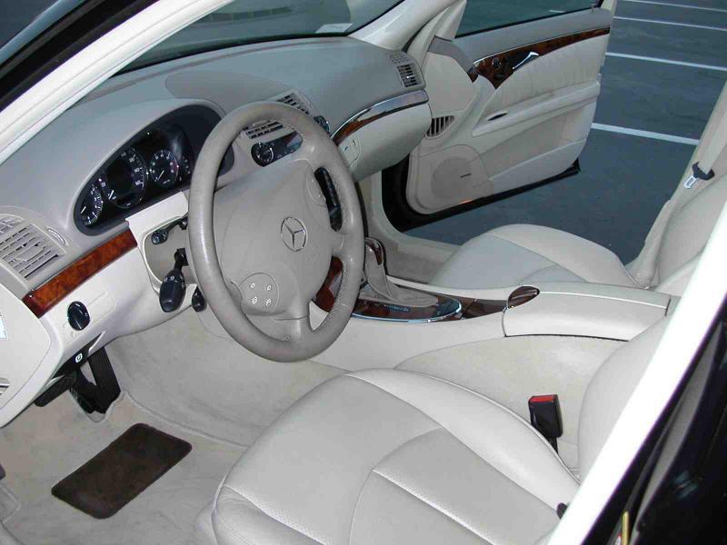 mercedes benz e500 2005 silver sedan 4matic awd gasoline 8 ...