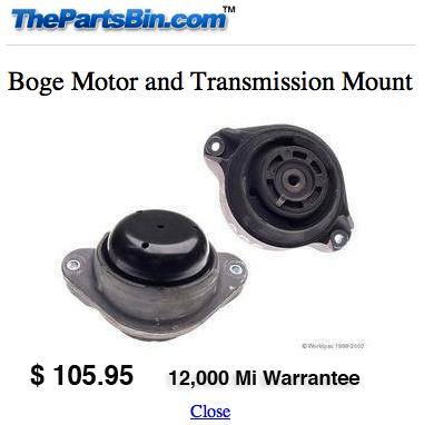 R129 Engine Transmission Mount Replacement Page 5