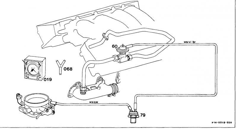 1989 r107 560sl egr valve mercedes benz forum. Black Bedroom Furniture Sets. Home Design Ideas