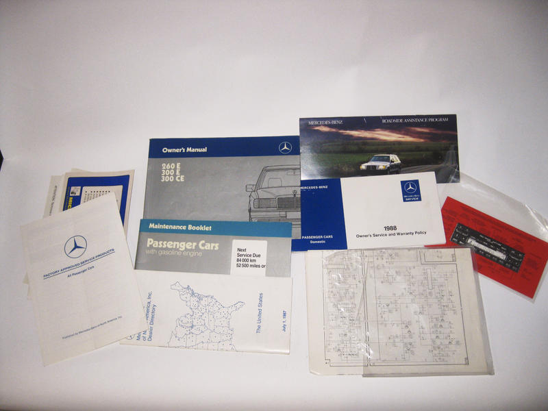 1988 W124 Owner's Manual, Other W124 Parts-emptyname-22.jpg