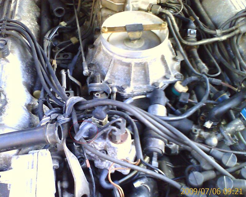 1985 500sel High Idle And Overheating