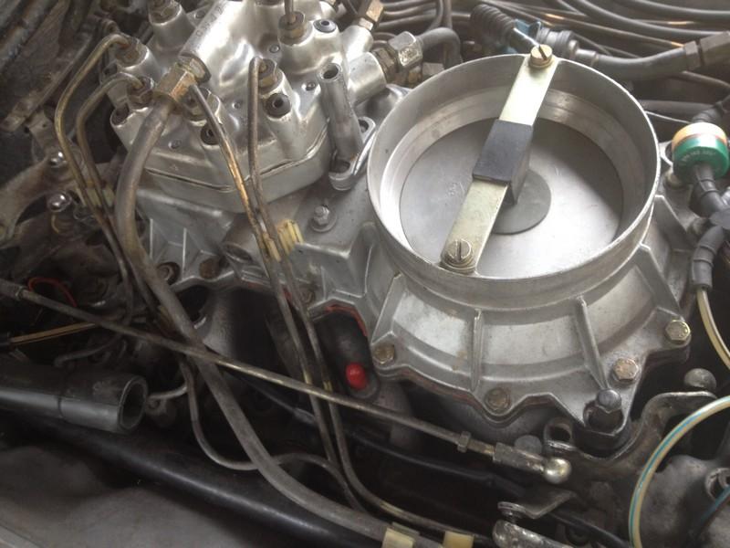 Vacuum Port 380sl 1981