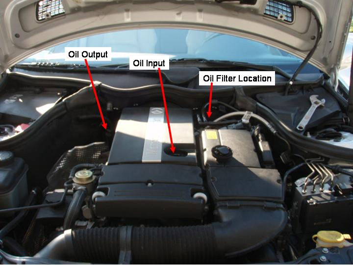 how to diy oil change on your c230