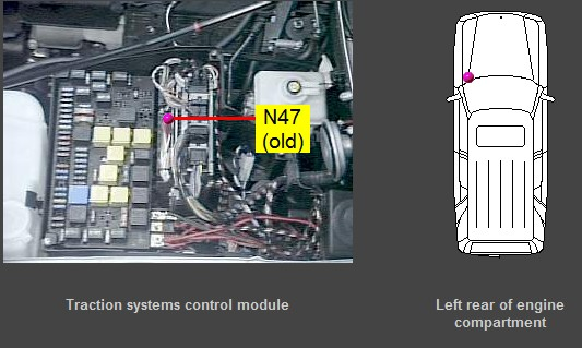 Mercedes E Combination Control Module Location