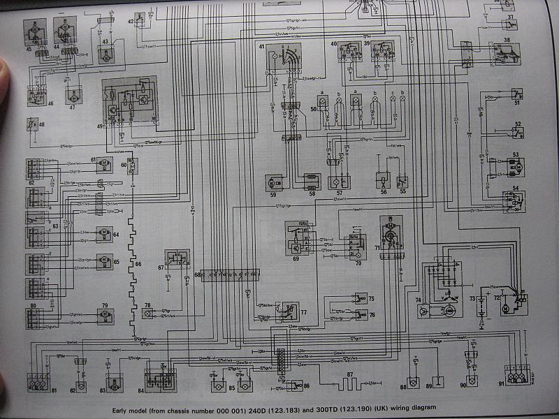 Electrical diagram for -79 240d - Mercedes-Benz Forum
