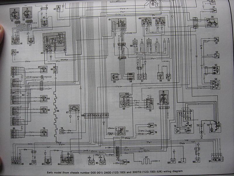 Electrical Diagram For 79 240d Mercedes Benz Forum