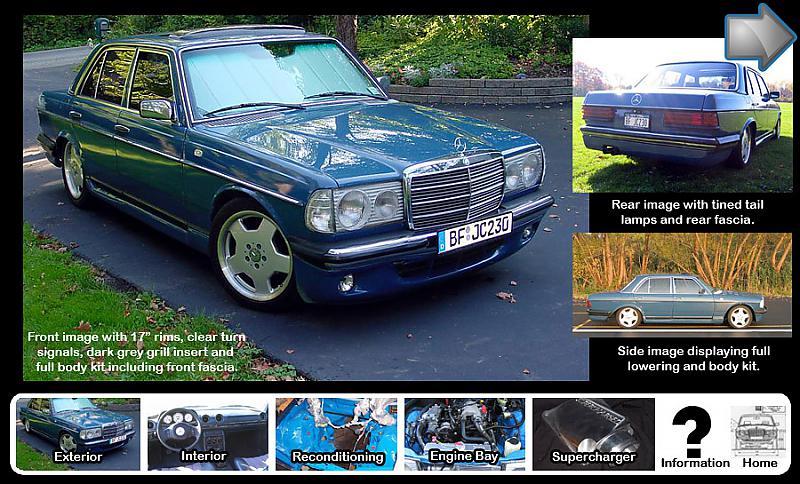 For Sale Custom 1980 w123