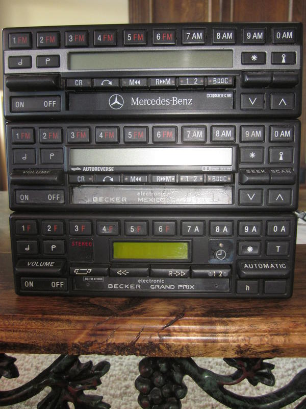 Does anyone know about old Becker Europa radios? | Mercedes