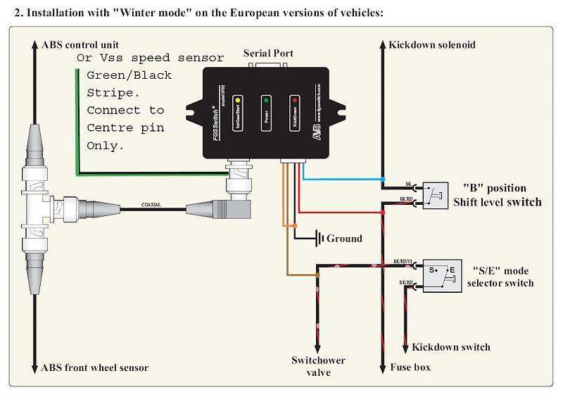 diy first gear start switch installation page 2 mercedes benz rh benzworld org  vehicle lpg wiring diagram