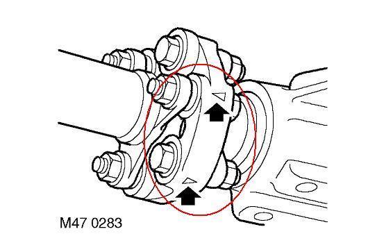 E320 Flex Disc Propshaft Centre Bearing Transmission Mount