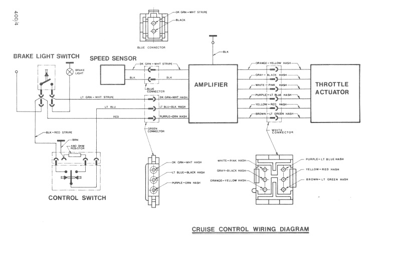 cruise control system wiring and circuit diagram click image to cruise control block diagram mercedesbenz forum wiring diagram go cruise control system wiring and circuit diagram click image to