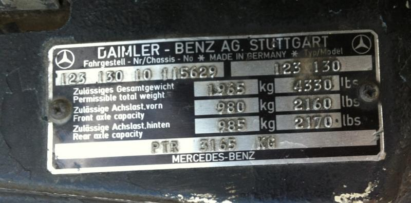 W123 cannot find vin on epc page 2 mercedes benz forum for Vin decoder mercedes benz