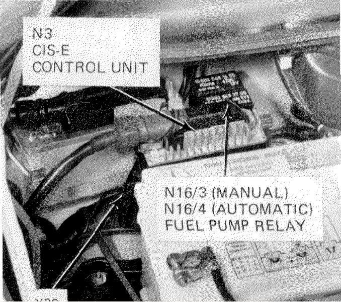 1989 300e Fuel Pump Relay