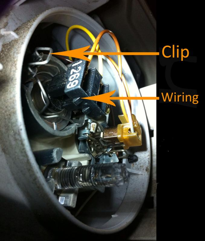 Mercedes w211 xenon bulb wiring diagrams repair wiring for Mercedes benz s430 headlight replacement
