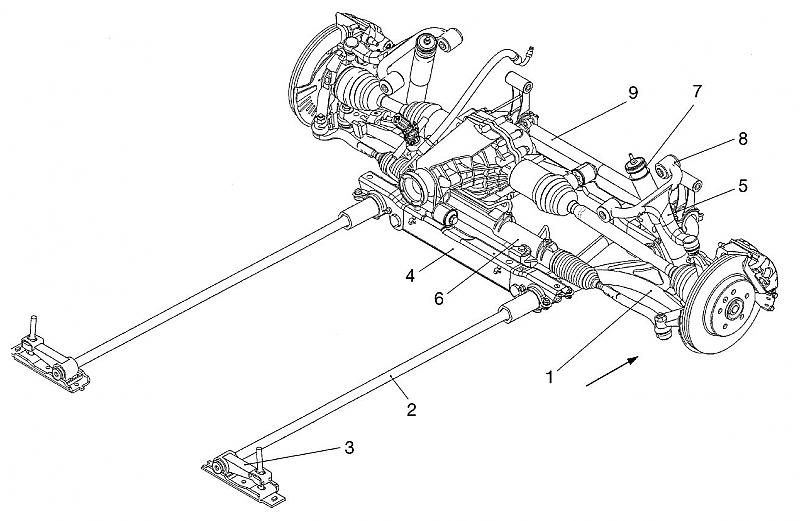 35 Dodge Dakota Front Suspension Diagram