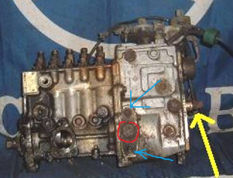 Timing Injection Pump While Engine is Running   Mercedes