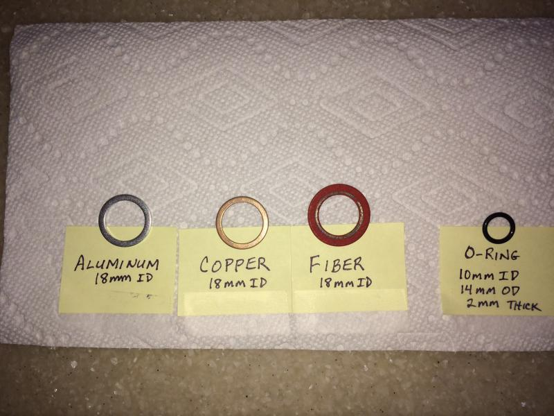 Fuel Filter Leakcrush Washer Mercedesbenz Forumrhbenzworldorg: Fuel Filter Copper Washers In At Elf-jo.com