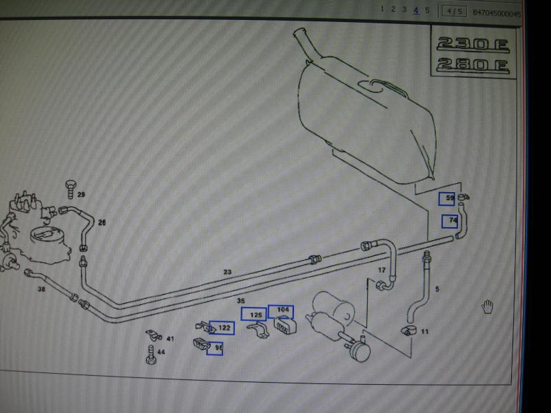 314760d1276944195 1984 280 fuel lines diagram anyone fuel lines 123.030 1984 280 fuel lines diagram anyone has it? mercedes benz forum 1984 tvr 280i wiring diagram at panicattacktreatment.co