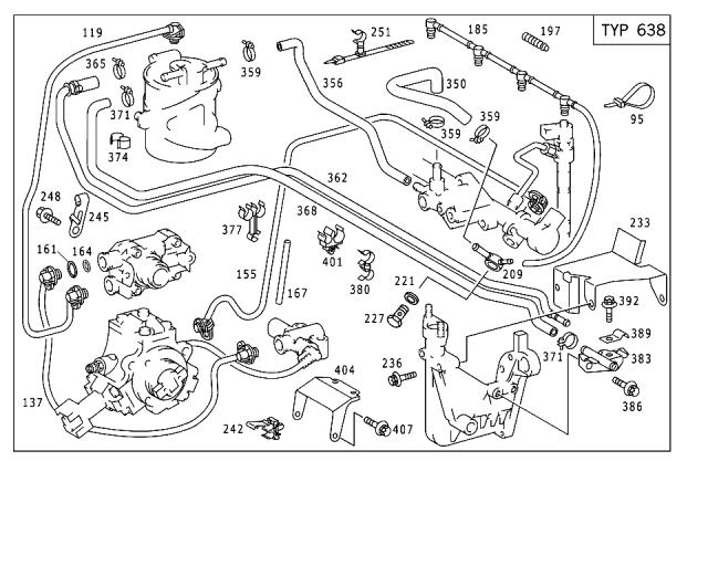 123 Mercedes Benz Vacuum System Diagram Engine Diagram