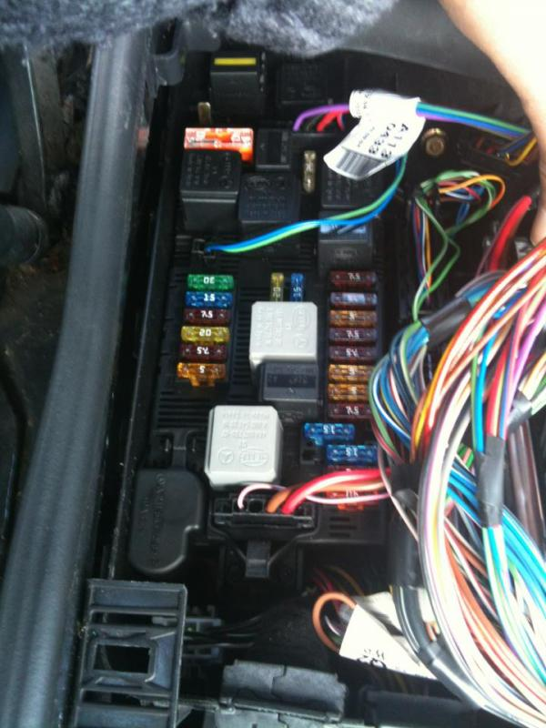 W219 All fuse and relay assignments | Mercedes-Benz ForumBenzWorld