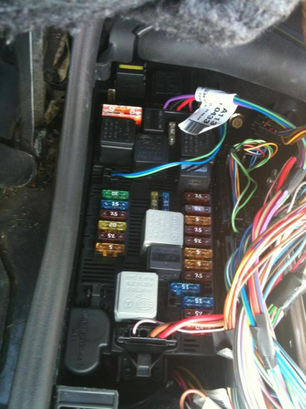 W219 All Fuse And Relay Assignments Mercedes Benz Forum