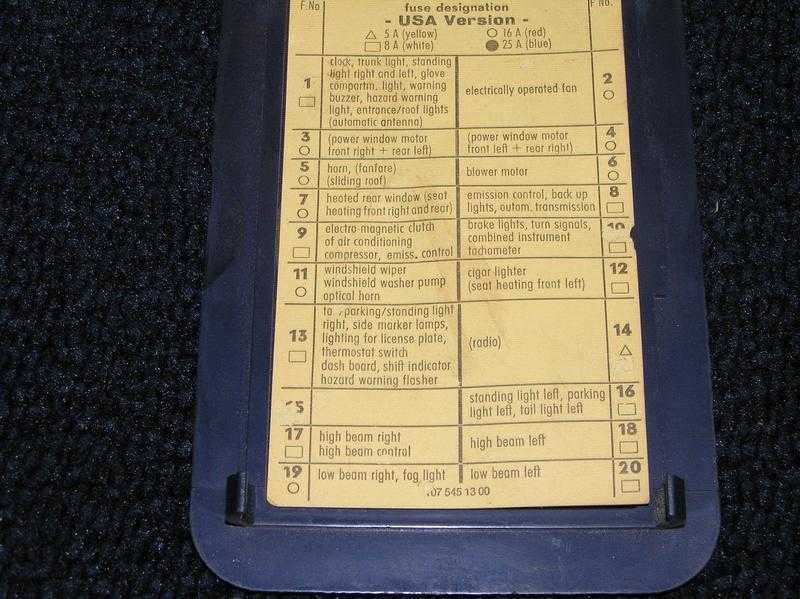 1979 Mercedes 450sl Fuse Box - DIY Enthusiasts Wiring Diagrams •