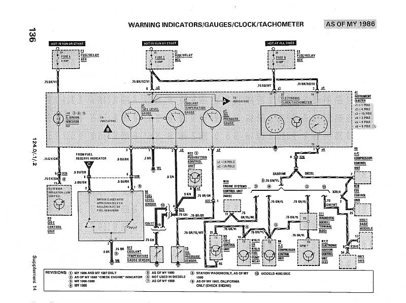 300d wiring diagram 19 wiring diagram images wiring for Mercedes benz w124 230e wiring diagram