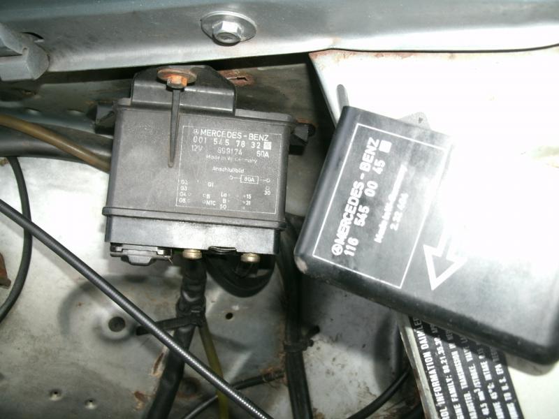 Diesel Glow Plug Relay FITS MERCEDES 001 545 98 32