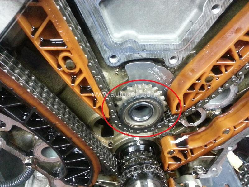 camshaft timing sprocket problem? - Mercedes-Benz Forum